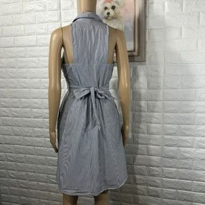 a6bf05c8a63 Anthropologie Dresses - Anthropologie Maeve Blue and White Striped Dress 6